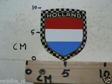 STICKER,DECAL HOLLAND ROOD WIT BLAUW B