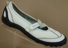 Privo Clarks Acacia White Leather Sport Flats Driving Loafers Shoes Womens 6 M