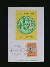 Vatican MK 1970 MEDAGLIA PIO IX maximum carta carte MAXIMUM CARD MC cm c6217