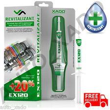 XADO EX120 Manual Gearbox, transmissions, differentials additive treatment
