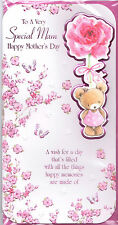Mother's Day Card For Mam. To A Very Special Mam Happy Mother's Day Cute Card.