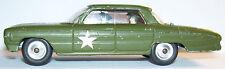 RARE MADE GREAT BRITAIN 1964 CORGI TOYS OLDSMOBILE SUPER 88 HQ STAFF CAR REF 358