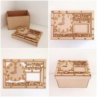 Laser Cut In this moment time stood still wooden box wood Box memories Box (H83)