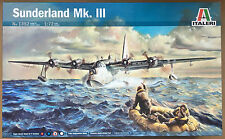 Italeri 1352 Sunderland Mk.III (6 Decal Versions) 1/72 Model Kit NIB