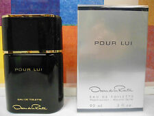 POUR LUI OSCAR DE LA RENTA 3.0 OZ / 90 ML EAU DE TOILETTE SPRAY FOR MEN NEW