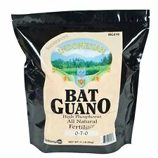 Sunleaves Indonesian Bat Guano 11 lbs organic fertilizer plant nutrient