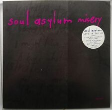 SOUL ASYLYM ~ MISERY ~ LIVE in the UK 45 white wax RARE NM-
