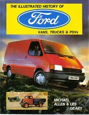 Ford Vans, Trucks & PSVs Illustrated History Model T Thames Transit Cargo +