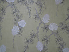 "VILLA NOVA CURTAIN FABRIC ""Norwood"" 1.9 METRES MIMOSA DELAWARE COLLECTION"