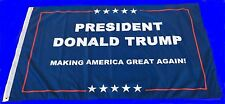 Trump 3x5 Foot Flag 2016 Make America Great Again Donald Trump For President USA
