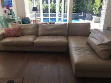 Jasper Lounge - 3 seater plus Chaise (7 years old)