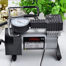 Portable 12V 100PSI/965kPA Car Electric Air Compressor Tire Infaltor Pump JHL