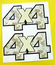 4x4 Off Road Stickers Calcomanías « Desert Camo Ideal Para Land Rover Defender