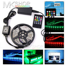 5050 Music Sound Activated 5M 300 LED IP20 Strip Light 20Key Music Melody Remote