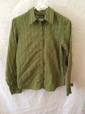 Columbia XCO Long Sleeved Blouse ~ Small ~ Green