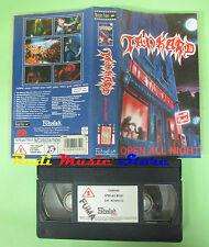 VHS TANKARD Open all night 1990 MODERN VIDEO NFV112 60 minuti no cd mc dvd (VM6)