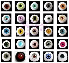 Lots 5 Pair BJD Glass (8MM) BJD Eyes Outfit for Ball Joint Doll Dollfie for xmas
