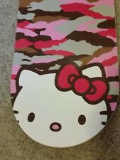 RARE 35th Anniversary HELLO KITTY PINK CAMO SNOWBOARD 148cm  Limited 1000 made