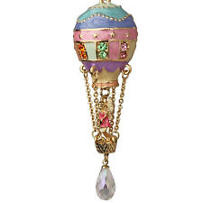 NEW KIRKS FOLLY LARGE UP UP AND AWAY BALLOON NECKLACE GOLDTONE