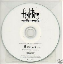 (77V) Fighting With Wire, Sugar - DJ CD