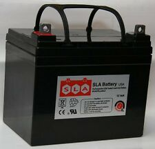 12V 35AH SLA U1 Battery for Kubota Case John Deere Dixie Chopper Riding Mower