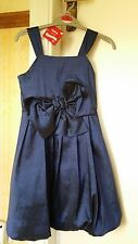 GIRLS BLUE PARTY / CHRISTMAS DRESS and BOLERO from ADAMS  - 8YRS