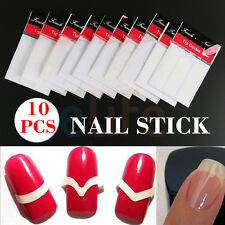 Nail Art 3D Design Manicure Tips Transfer Stickers Decal Decoration 10 Sheets