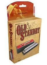 """HOHNER 34BBX-D OLD STANDBY HARMONICA """"C"""" HARP BRAND NEW IN PACK SALE"""