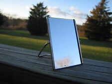 Neat Vintage 1960's Small Travel Stand Mirror