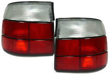 CLEAR REAR TAIL LIGHTS LAMPS FOR BMW E34 5 SERIES 1988-1995 SALOON MODEL V4