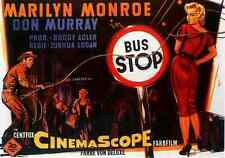 Film Bus Stop 02 A4 10x8 Photo Print