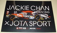 Le Mans - WEC 2016 Silverstone LMP2 Winner Jackie Chan DC Racing #38 Signed Card