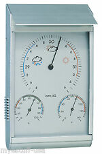 Weather Station Android Barometer Thermometer Hygrometer Rugged Design Aluminum