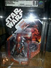 Star wars Destroyer Droid Saga Legends tac AFA 9.0 uncirculated