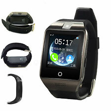 Wireless Bluetooth Smart Wrist Watch Phone Mate + Camera For Android Smartphone