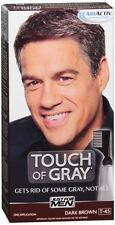 JUST FOR MEN Touch of Gray Hair Treatment T-45 Dark Brown, 1 Each (Pack of 4)