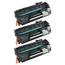 US STOCK 3PK CE505A 05A Black Toner Cartridge with HP for LaserJet P2030 P2035