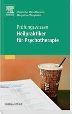 *NEU*  CHRISTOPHER OFENSTEIN - PRüFUNGSWISSEN HEILPRAKTIKER FüR PSYCHOTHERAPIE