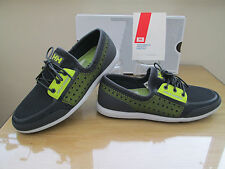 HELLY HANSEN TRYSAILDARK GREY DECK BOAT LOAFER SHOES TRAINERS SIZE 6.5  EURO 40.