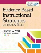 Transition: Evidence-Based Instructional Strategies for Transition by David...