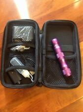 1300 MaH Replacement Battery w Charger Variable Voltage Vape case & bottle Fatty