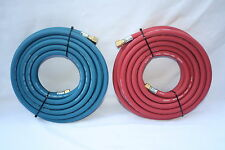 10metre x 8mm Oxygen / Acetylene Gas Cutting and Welding  Hoses  (Needatool)