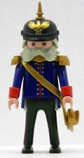 PRUSSIA GENERAL WITH SPIKED HELMET 1900 Playmobil to O. v. Bismarck Soldiers