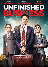 Unfinished Business (DVD, 2015) NEW