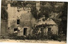 CPA  Doué-la-Fontaine (M.-et-L.) - Une Cave d'habitation      (207591)