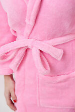 NEW IN PACKAGE! WOMEN'S PINK Plush Spa Bath Robe VALENTINE'S GIFT!