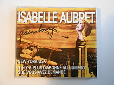 "ISABELLE AUBRET chante GAINSBOURG : NEW YORK USA [ CD-MAXI  PROMO ""MEYS"" ]"