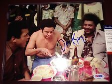 Don King  boxing promoter PSA DNA auto autograph photo & Muhammad Ali in picture