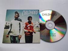 CHILDHOOD - BLUE VELVET - MEGA RARE PROMO CD HA0011