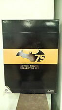 *BATMAN 75TH ANNIVERSARY ACTION FIGURE 4-PACK SET ONE DC COMICS NEW 52 SUPERMAN
